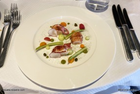 Menu - Restaurant - Ponant - Le Jacques Cartier