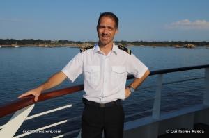 Commandant Xavier Rutten- Le Jacques Cartier - Ponant