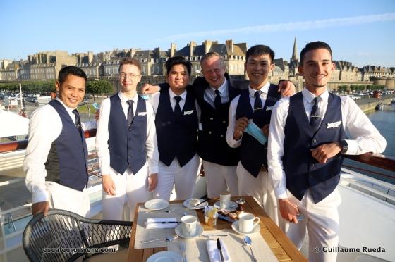 Restaurant - Le Jacques Cartier - Ponant