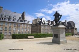 Saint-Malo - Statue de Jacques Cartier