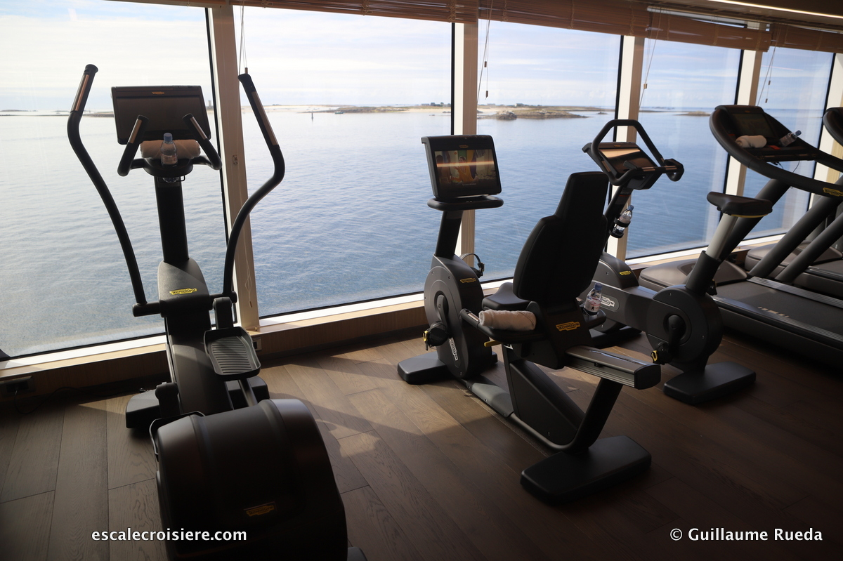 Salle de fitness - Le Jacques Cartier - Ponant