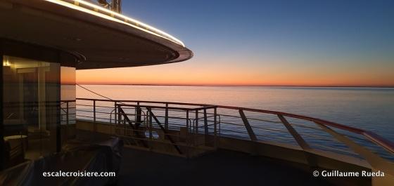 Terrasse salon observatoire - Le Jacques Cartier - Ponant