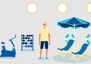 Costa protocole sanitaire - port du masque obligatoire