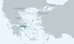 Itinéraire Celestyal - Ecléctique mer Egée