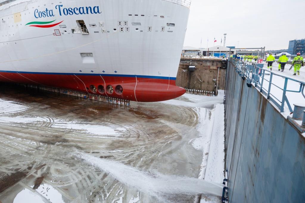 Costa Toscana - Meyer Turku - Mise à flot