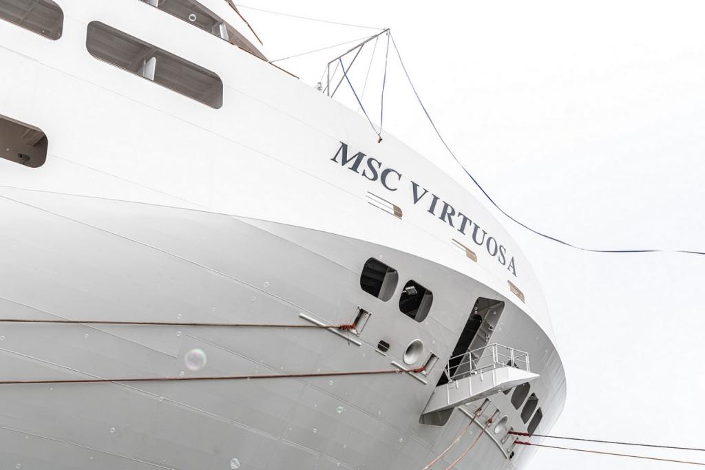 Livraison du MSC Virtuosa aux Chantiers de l'Atlantique - Photo © Ivan Sarfatti