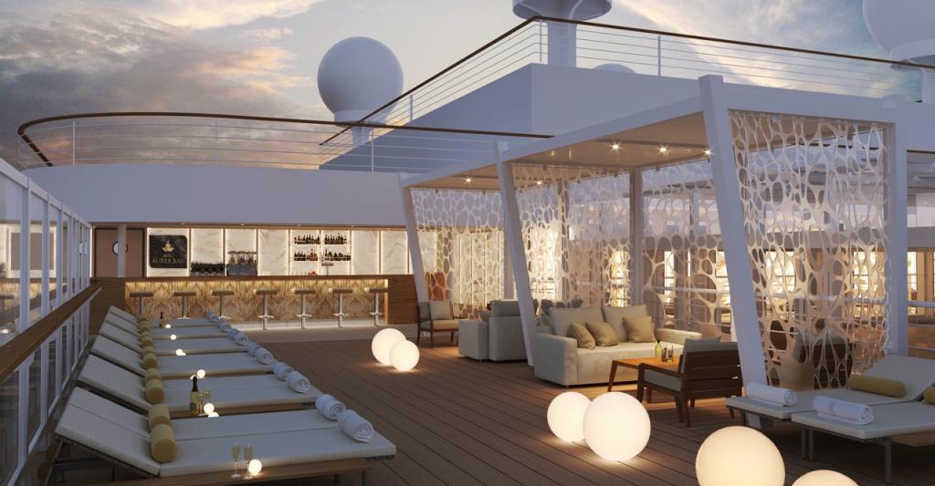 MSC Seashore - Aurea Bar