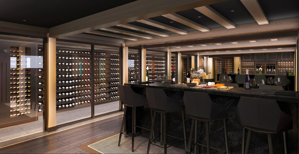 MSC Seashore - Bar à vin - Wine Cellar and Tasting