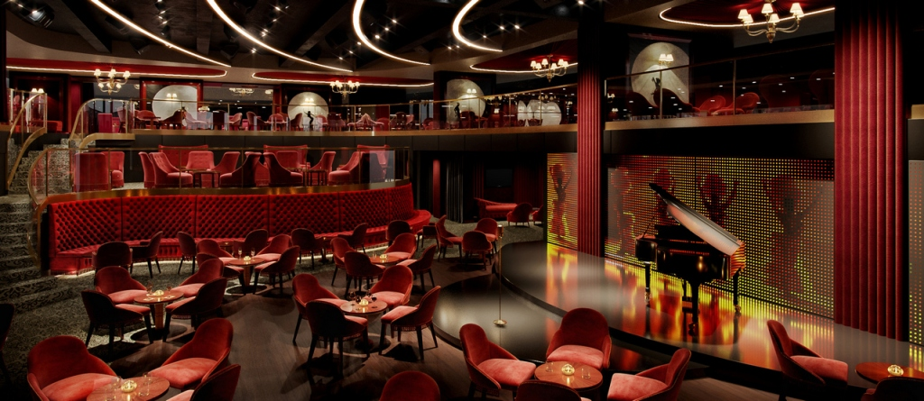 MSC Seashore - Cabaret rouge - Aft Lounge