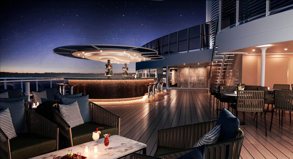 MSC Seashore, Sky Bar