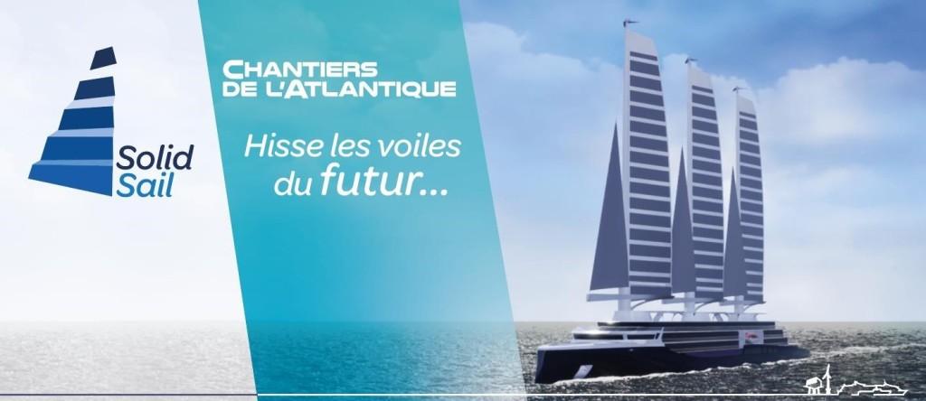 Solid Sail - Chantiers de l'Atlantique - MSC Virtuosa