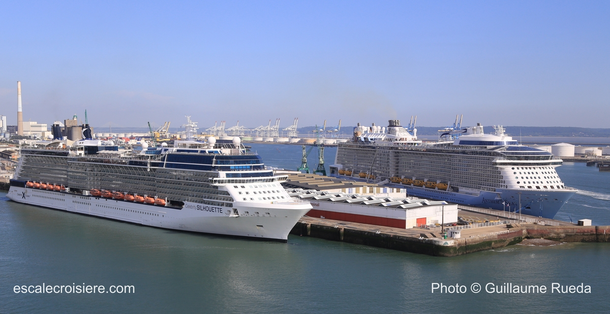 Celebrity Silhouette - Anthem of the Seas - Le Havre
