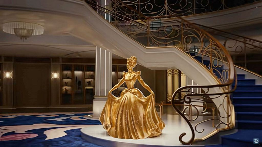 Disney Wish Atrium - Cendrillon