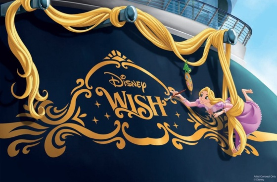 Disney Wish - Raiponce - Make-A-Wish foundation