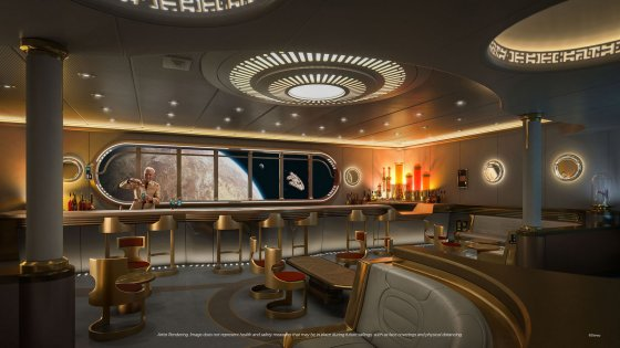 Disney Wish - Star Wars Hyperspace Lounge