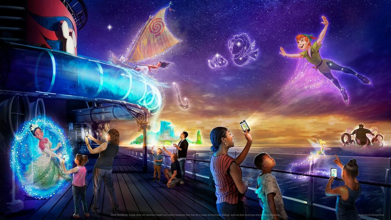 Disney Wish - Uncharted Adventure - Réalité augmentée