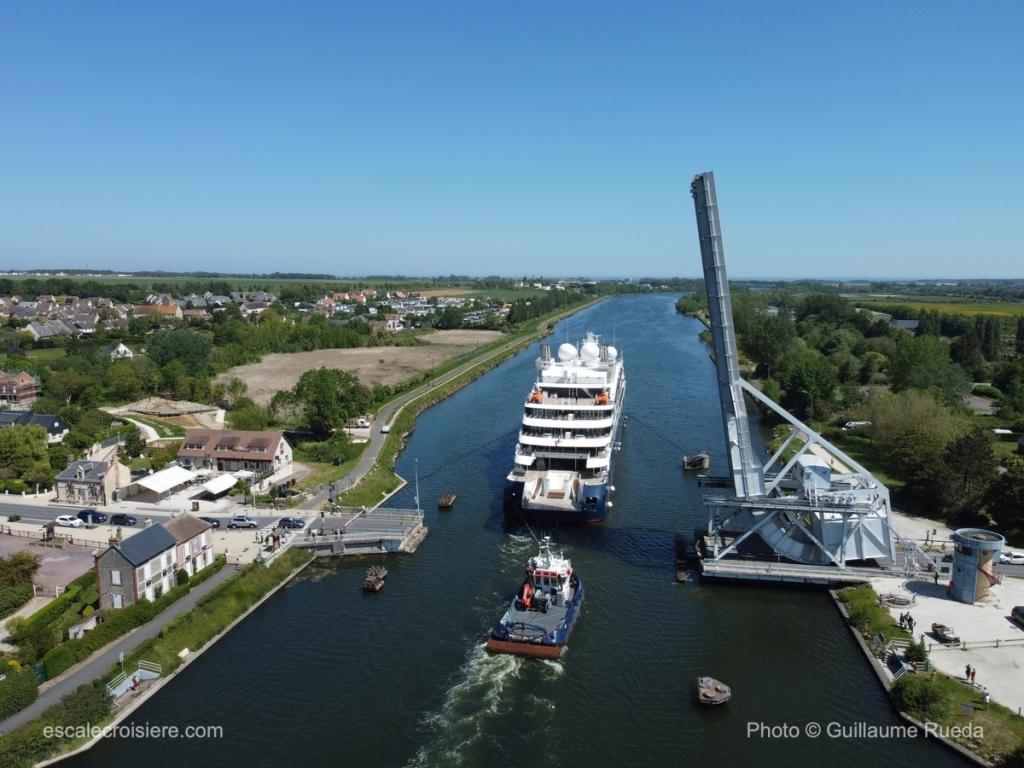 Le Dumont d'Urville - Pegasus Bridge - Bénouville - Canal de Caen