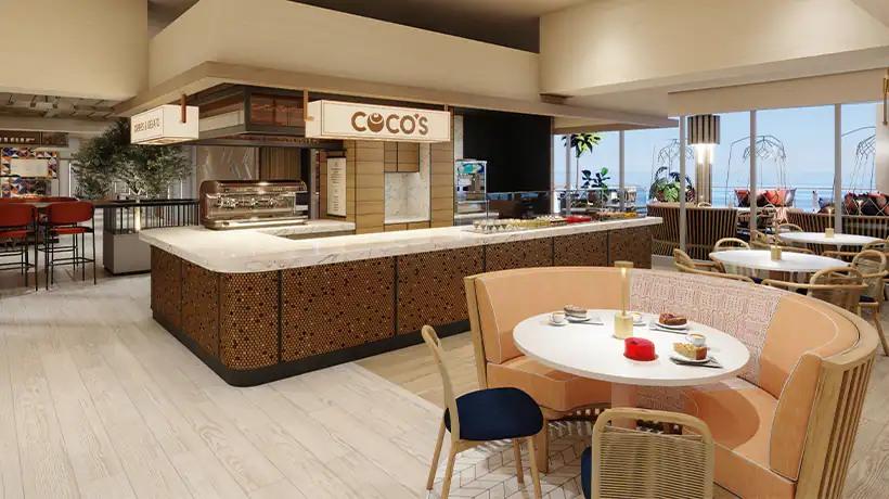 Norwegian Prima - Indulge food hall - Coco's