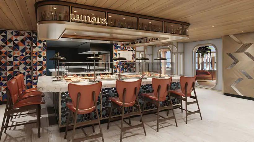 Norwegian Prima - Indulge food hall - Tamara