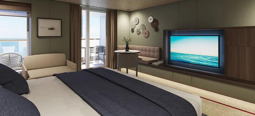 Norwegian Prima - The Haven Penthouse Suite