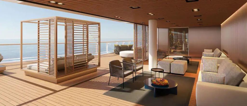 The Haven Lounge - Espace extérieur