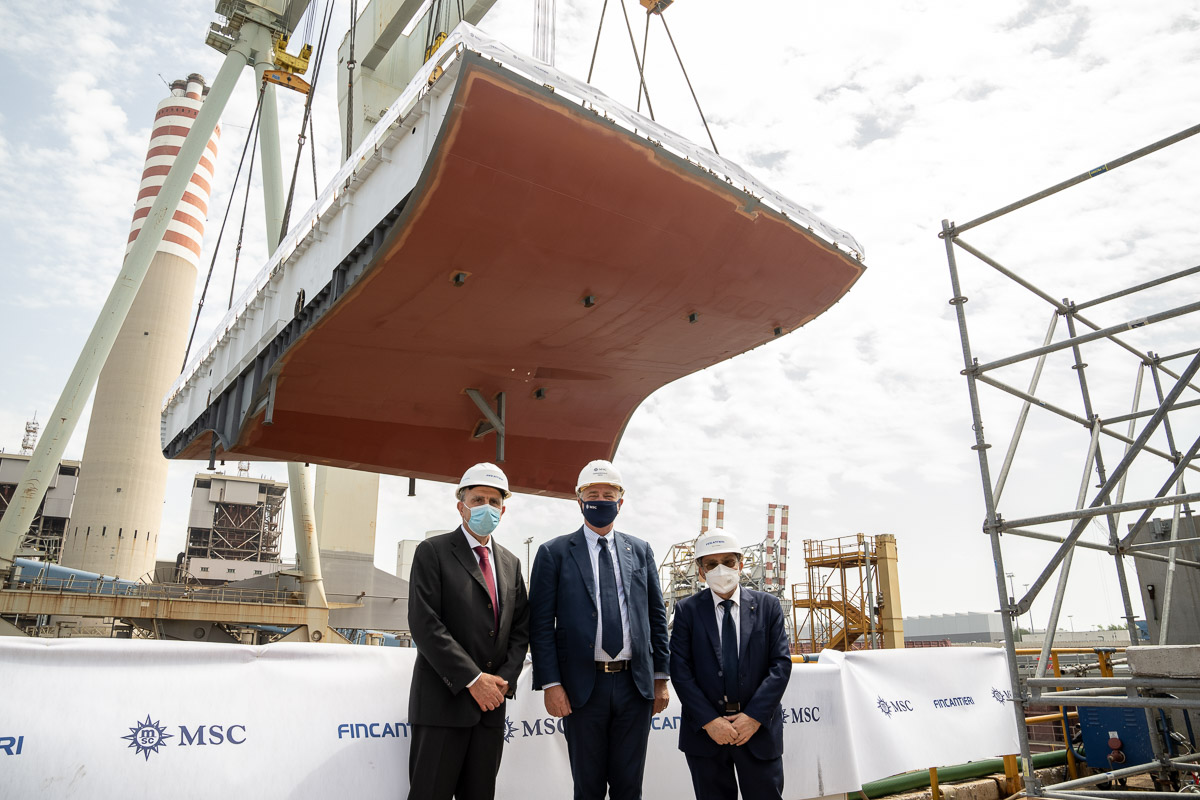 MSC Seascape - Roberto Olivari, Pierfrancesco Vago et Giuseppe Bono