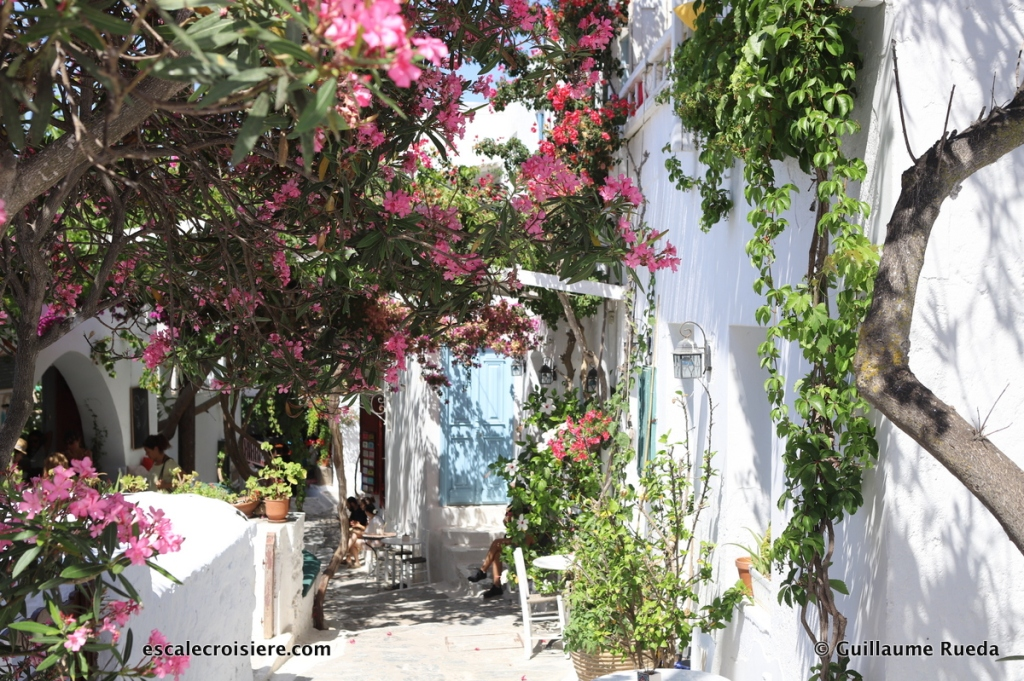 Amorgos - Chora - Grèce