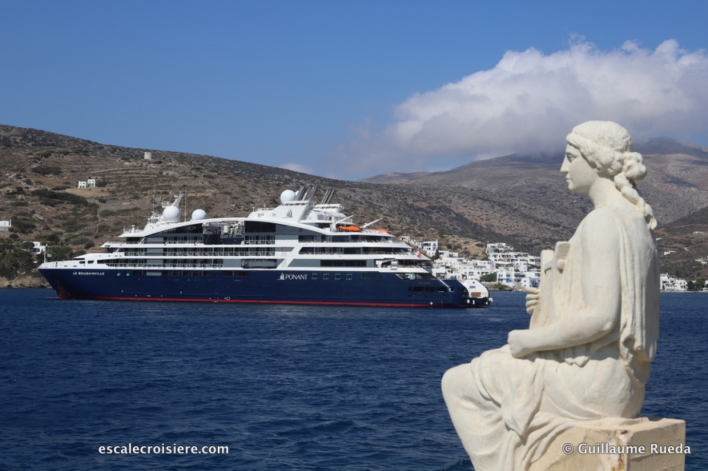 Amorgos - Grèce - Le Bougainville