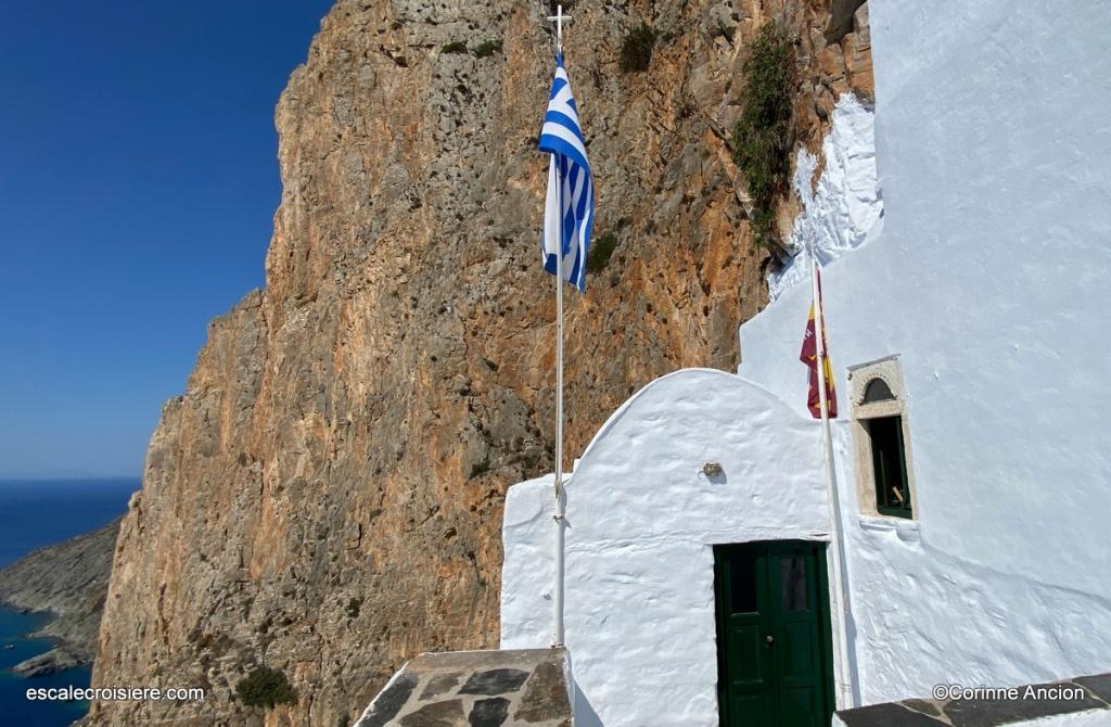 Amorgos - Monastère Hozoviotissa - Grèce