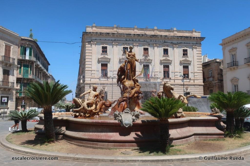 Fontaine de Diane - Ortigia - Syracuse