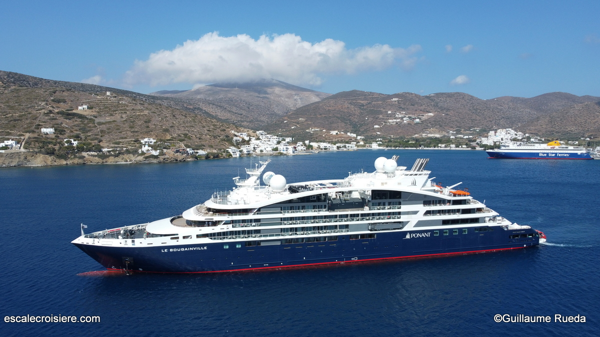 Le Bougainville - Amorgos - Grèce