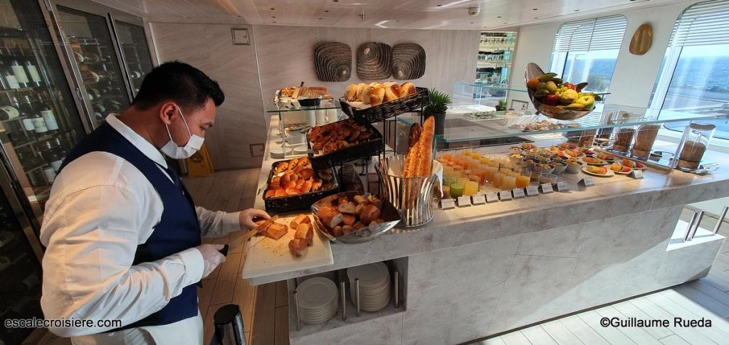 Le Bougainville - Restaurant Nautilus - Buffet petit déjeuner