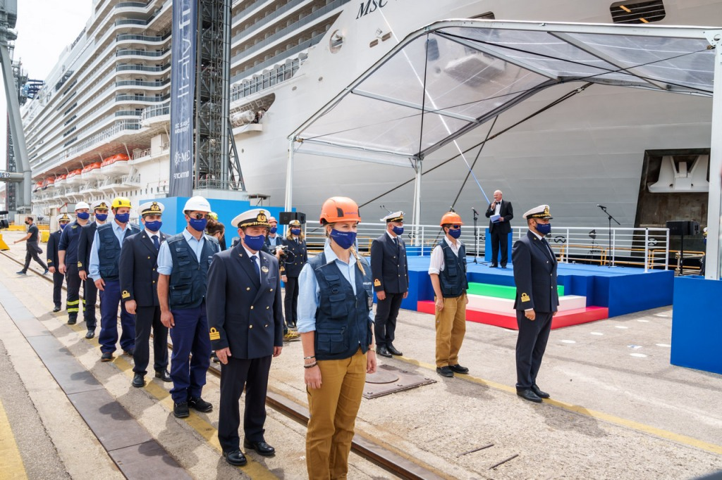 Livraison MSC Seashore - Fincantieri Monfalcone