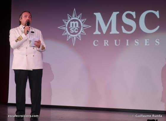 MSC Seaside - Commandant Massa