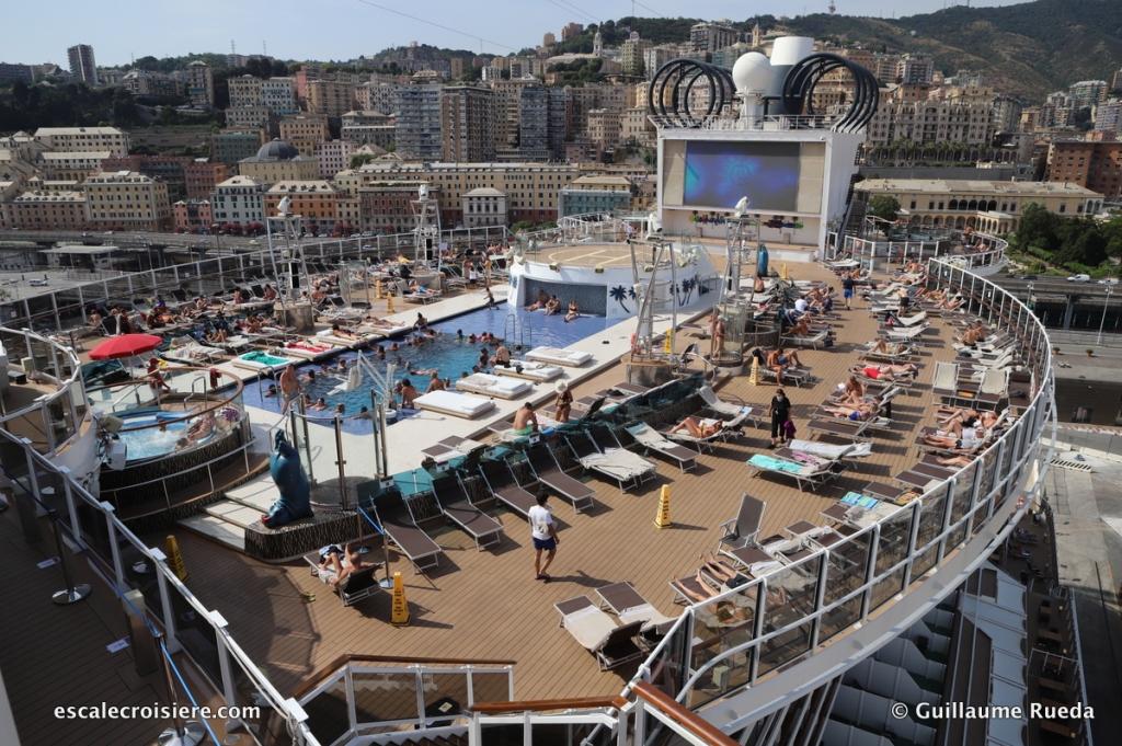 MSC Seaside - Gênes
