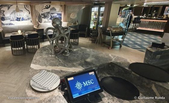 MSC Seaside - Ocean Cay restaurant