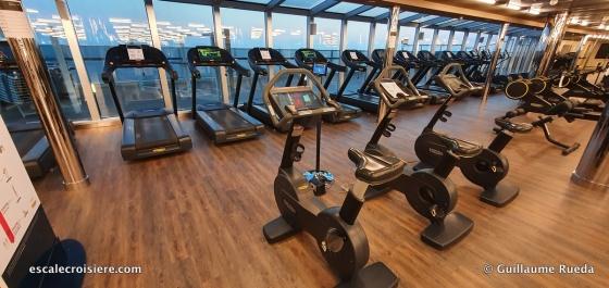 MSC Seaside - Salle de sport