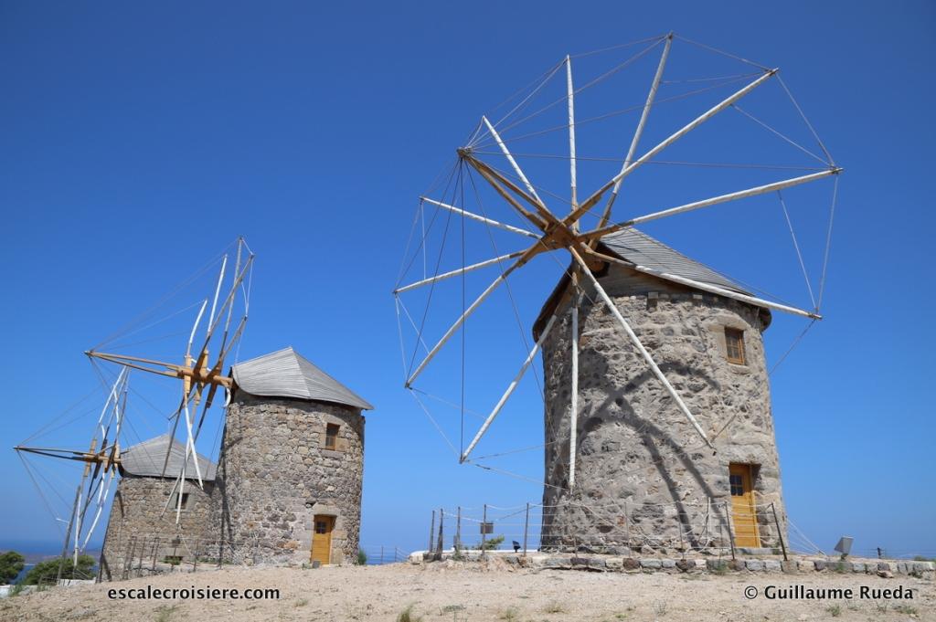Patmos - Moulins - Grèce