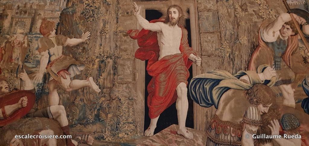 Rome - Musée du Vatican - Galerie tapisseries
