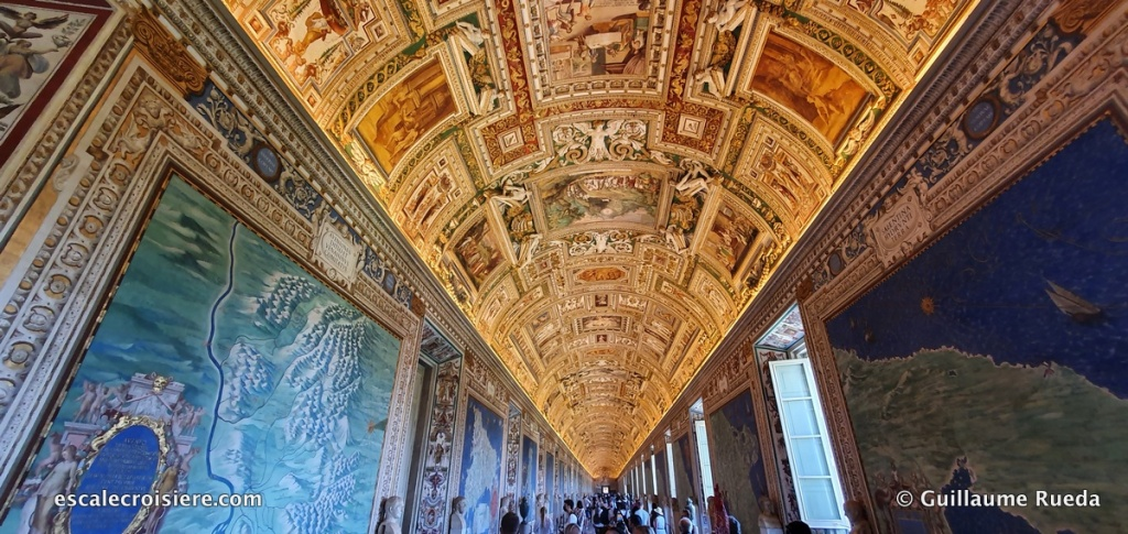 Rome - Musée du Vatican - Galerie des cartes géographiques