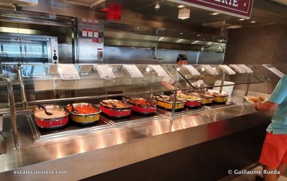 MSC Seaside - Marketplace buffet
