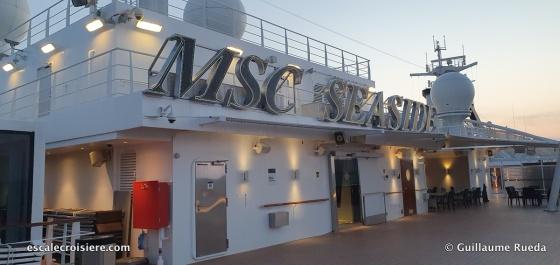 MSC Seaside - ponts
