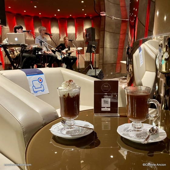 MSC Seaside - Venchi chocolat chaud