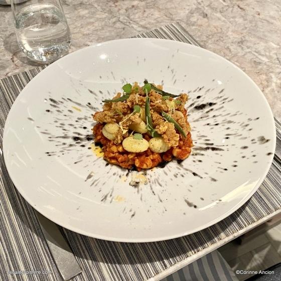 Ocean Cay restaurant - Ragout de calamar