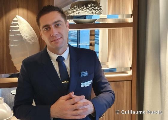 Ludovic Janeczek - Bar Manager Ponant