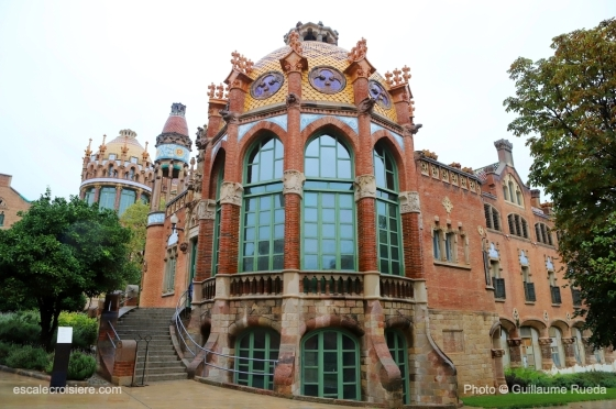 Hôpital Santa Creu i Sant Pau - Barcelone