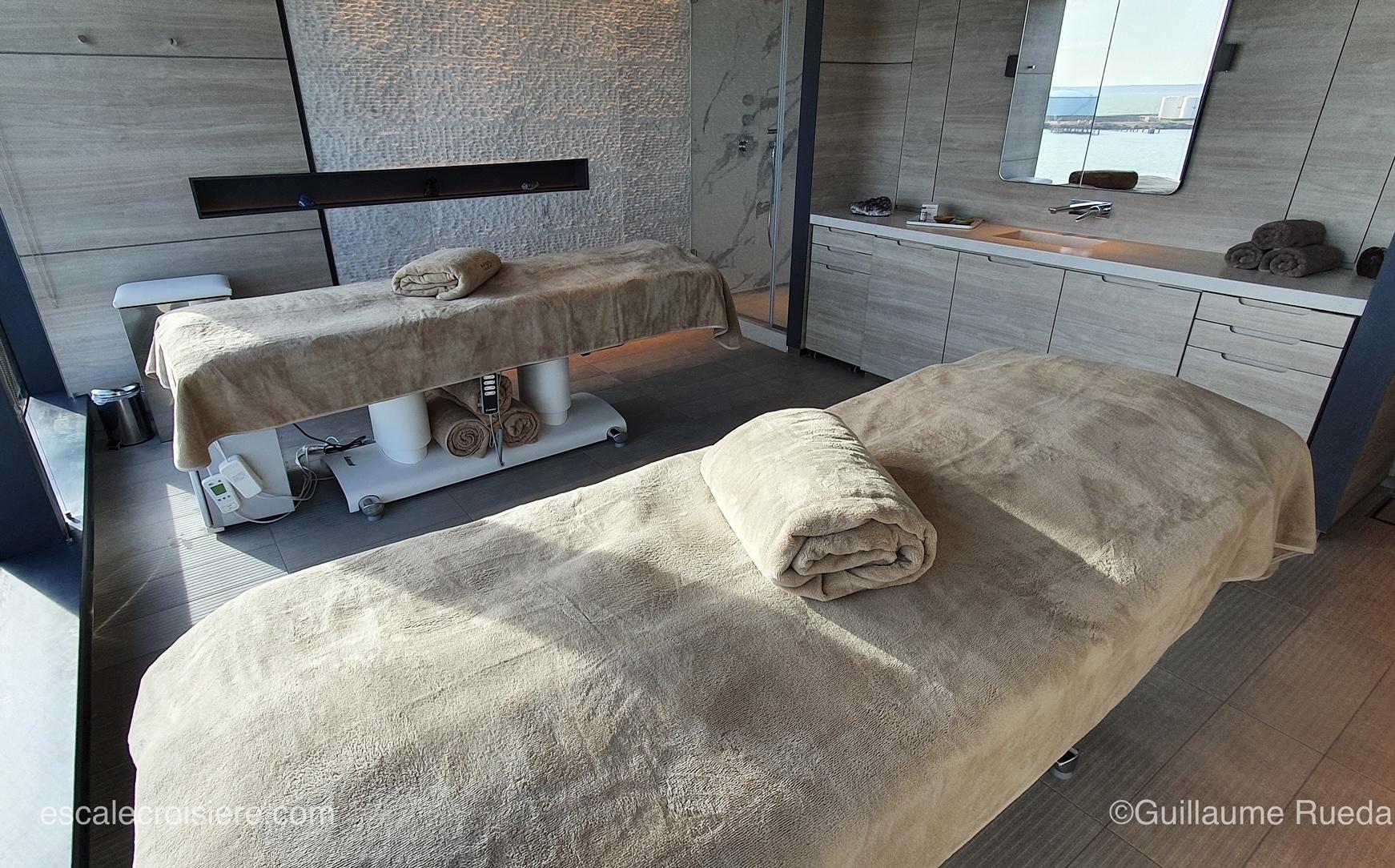 Le Commandnat Charcot - Spa Salle massage